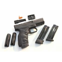 BB TECH BB6 Pistole Schwarz 9mm