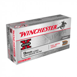 WINCHESTER 9MM PARA 124 GRS FMJ 500 STK PACKUNG