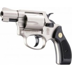 S&W Chiefs Special Signalwaffe Nickel Kal. 9mm